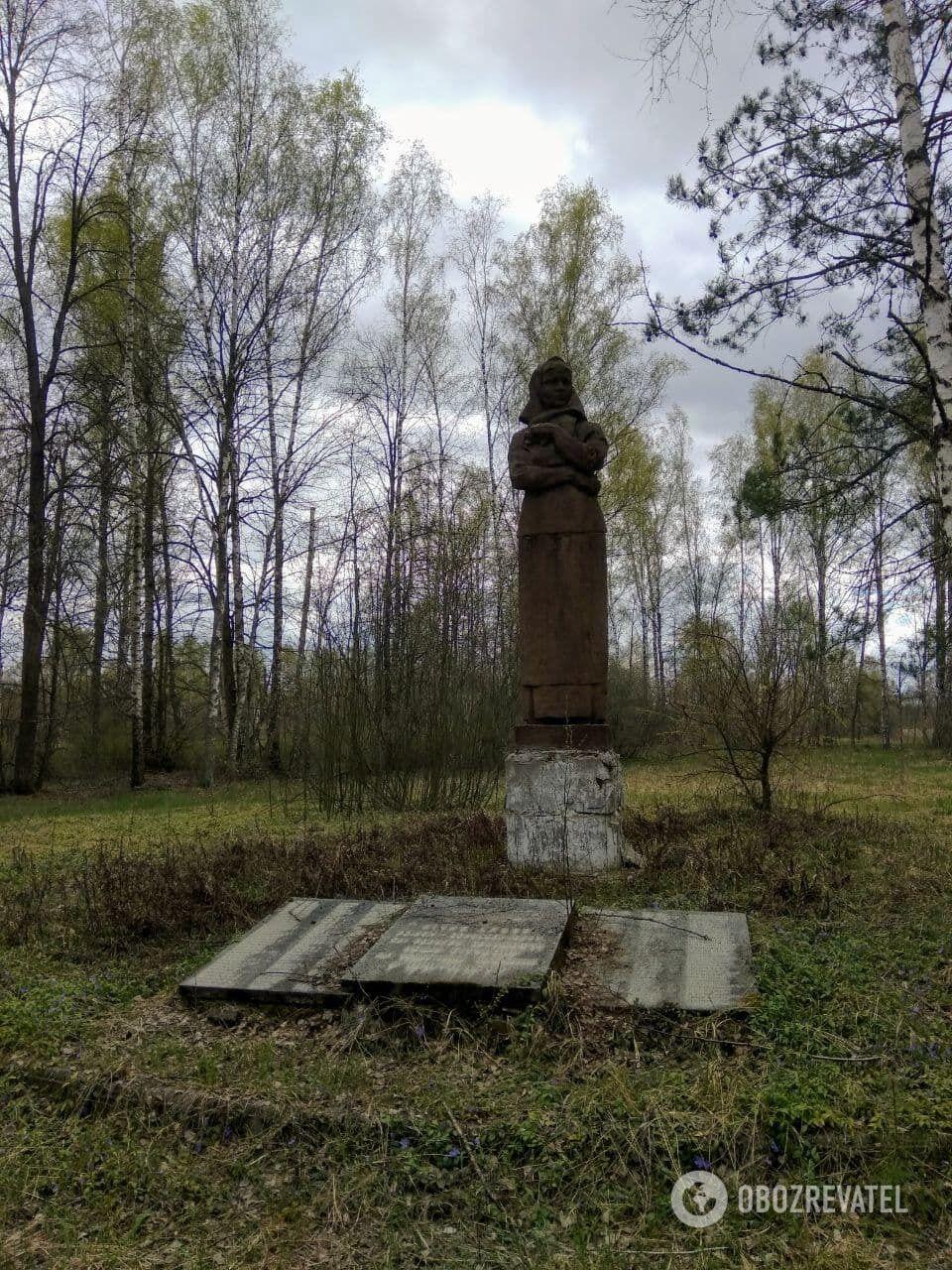 Пам'ятник загиблим на війні жителям у Малих Кліщах
