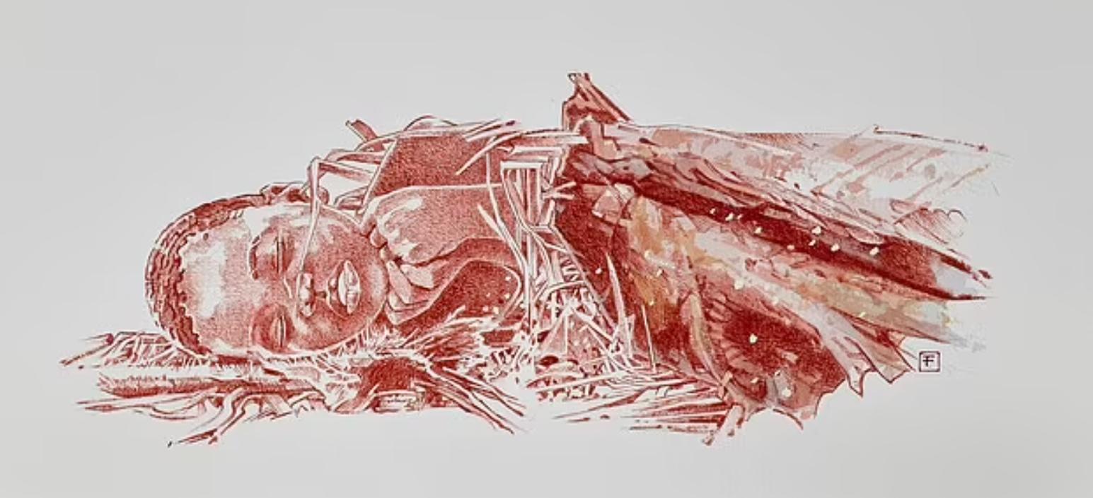 Можливе зображення померлої дитини