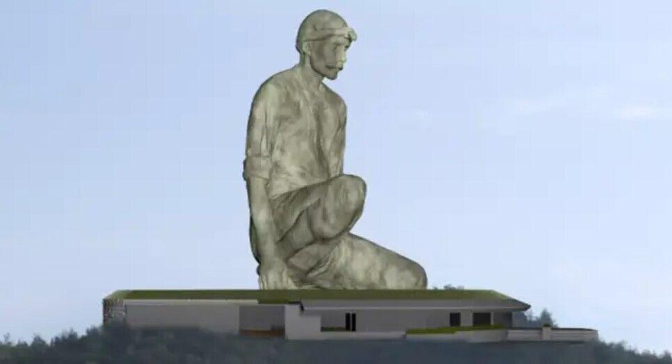 Проєкт майбутньої скульптури.