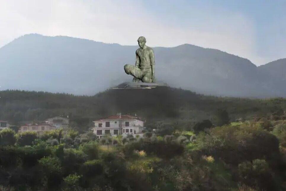 Як буде виглядати статуя.
