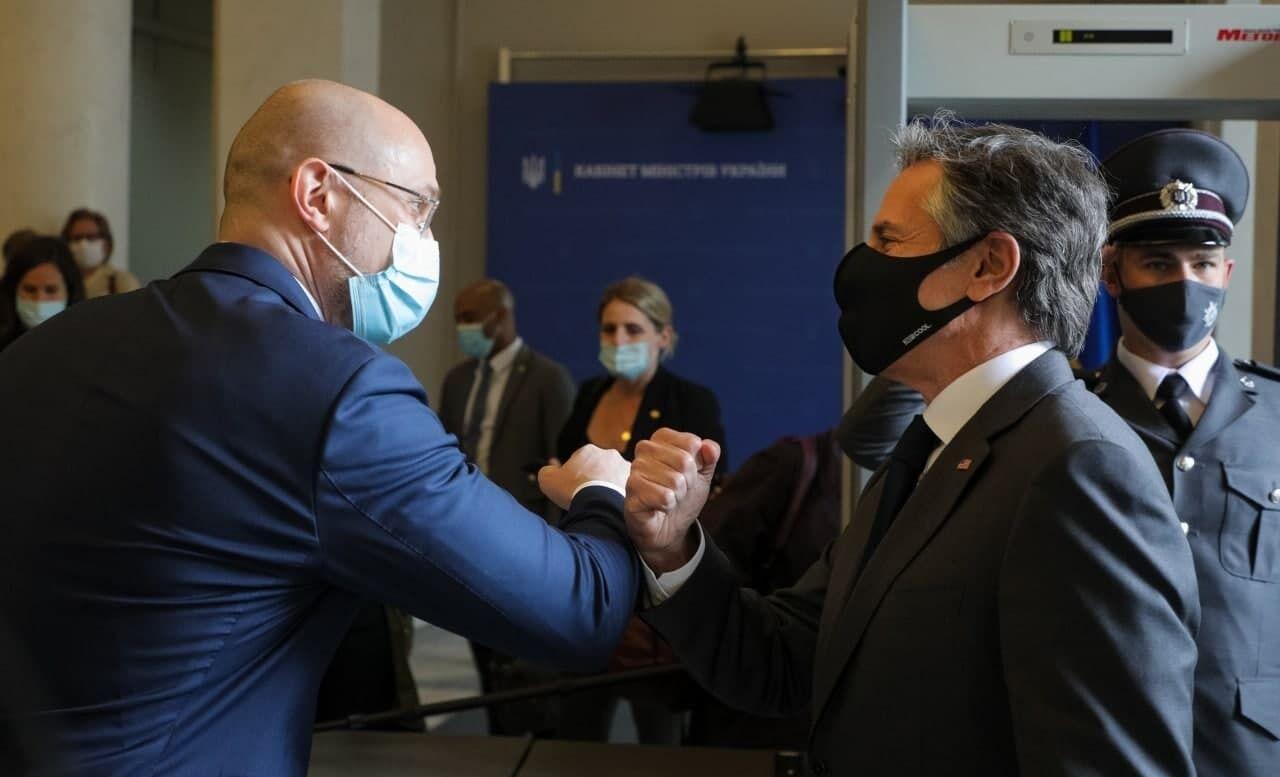 У Києві Ентоні Блінкен також зустрівся з головою уряду України