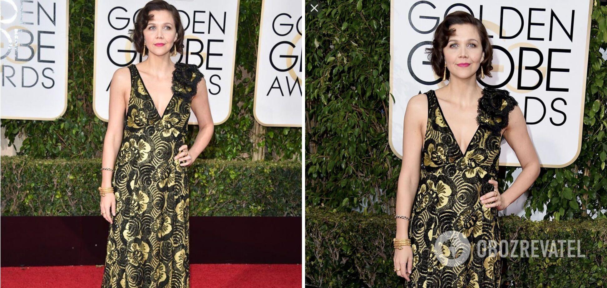 Звезда кино выбрала неудачную ткань для платья.