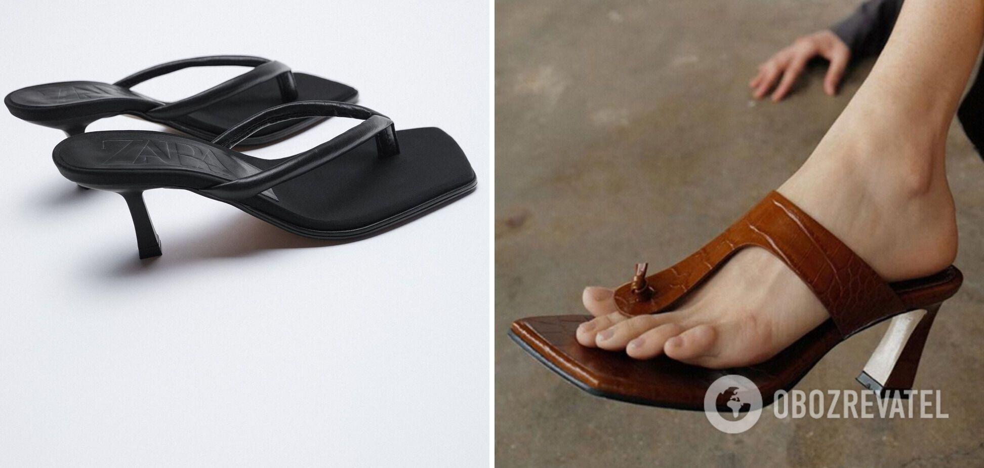 Вьетнамки стали трендом летней обуви 2021 года.