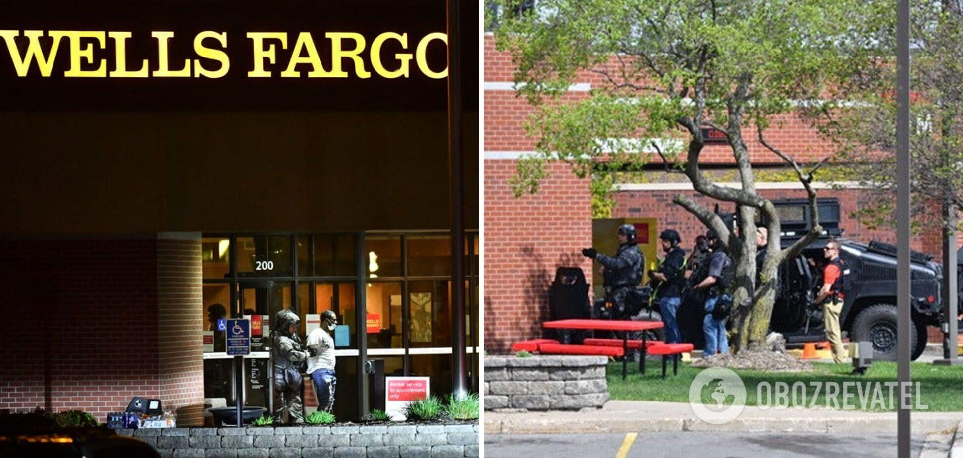 Невідомий напав на відділення банку Wells Fargo