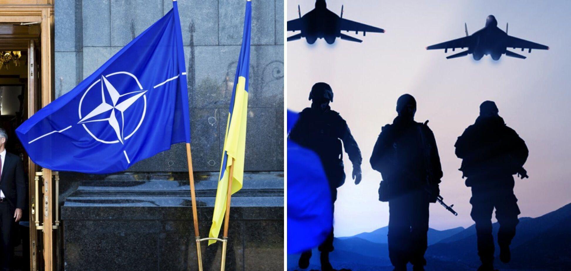 Сотрудничество Украины с НАТО