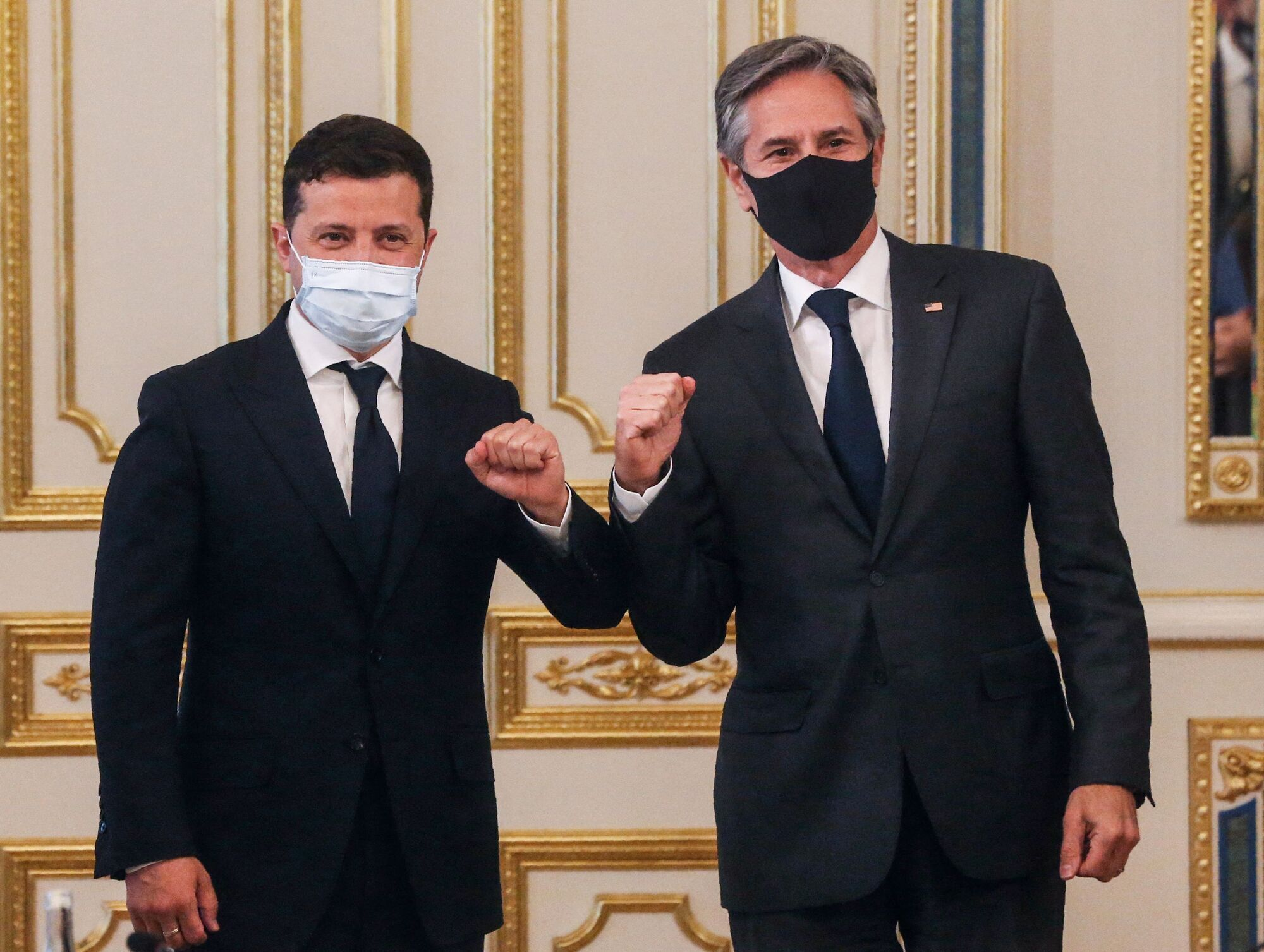 Держсекретар США Ентоні Блінкен зустрівся з президентом України Володимиром Зеленським