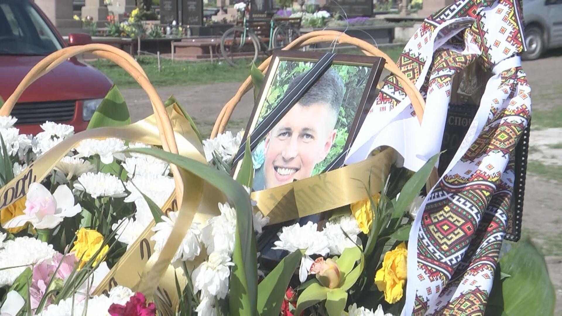 23-річного Володимира Воробця поховали 6 травня у рідному селі Іванівка на Тернопільщині