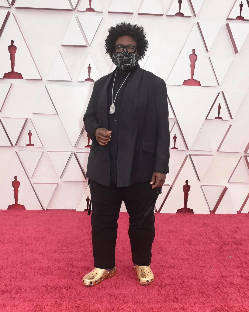 """Золоті крокси з'явилися на червоній килимовій доріжці """"Оскара"""""""
