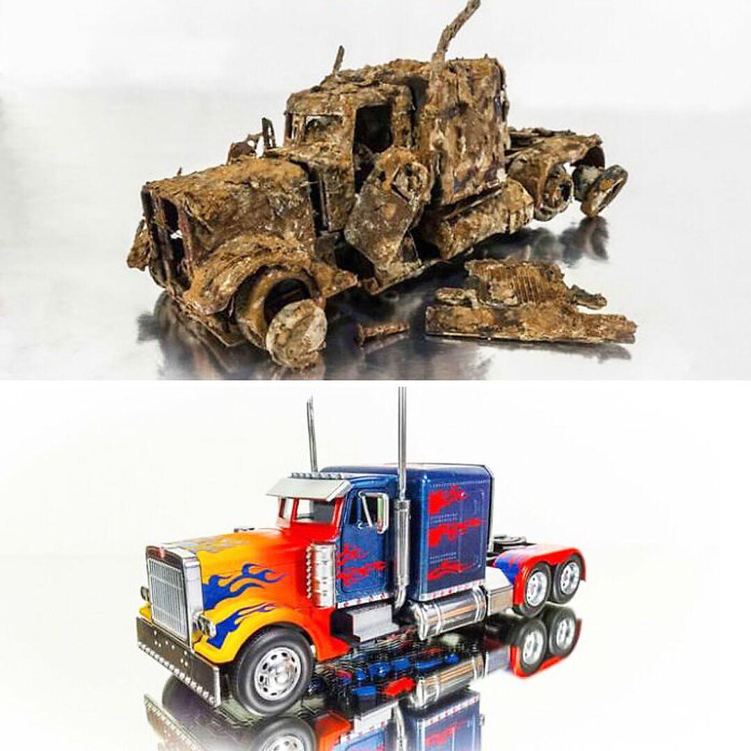 """Вантажівка-трансформер """"Оптимус Прайм"""""""