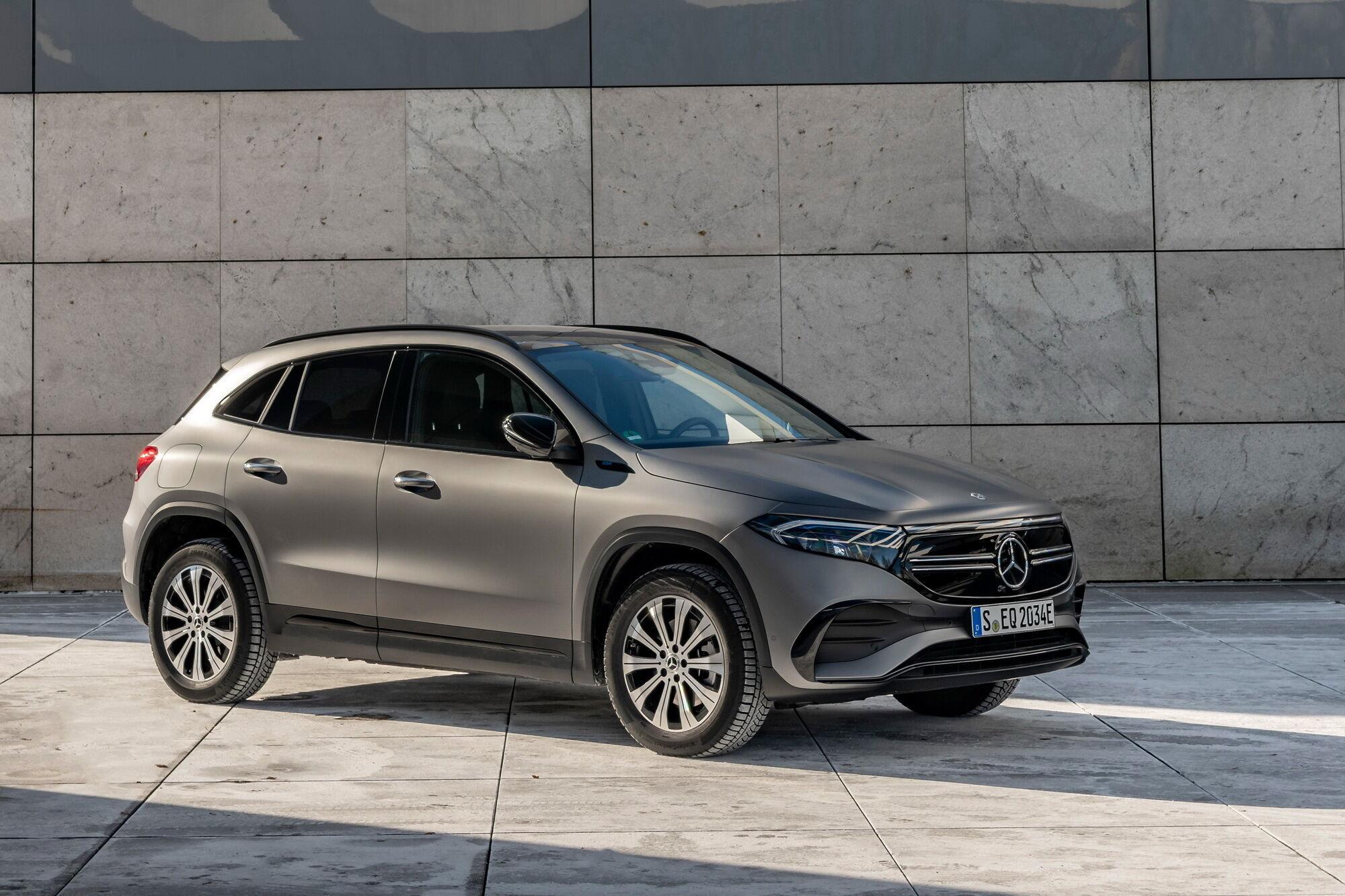 Mercedes-Benz продовжує розширювати пропозицію в сегменті електрокарів