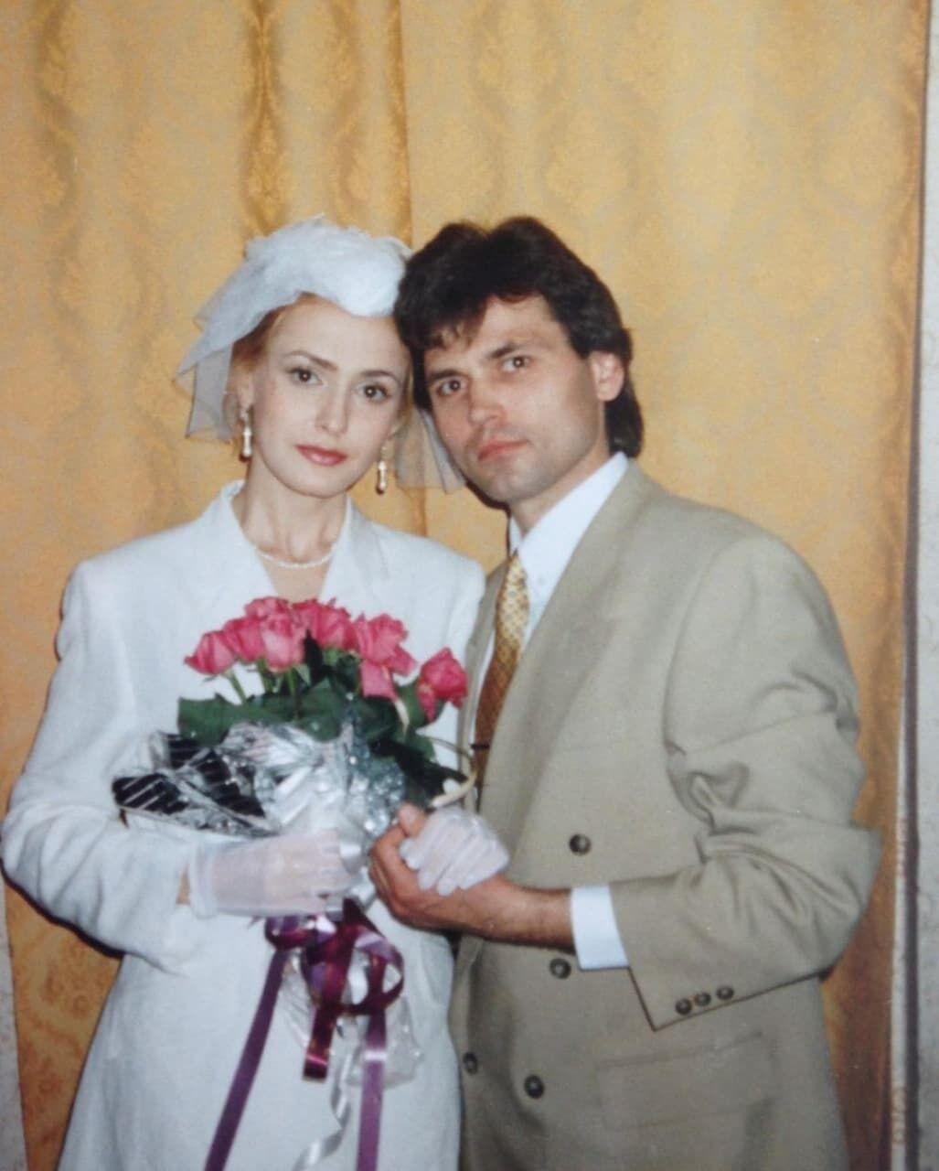Сумська в день весілля.