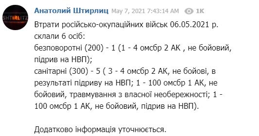 Оккупанты на Донбассе обстреляли украинские позиции: ВСУ понесли потери