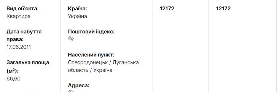 Декларация судьи Печерского районного суда Киева Кристины Константиновой