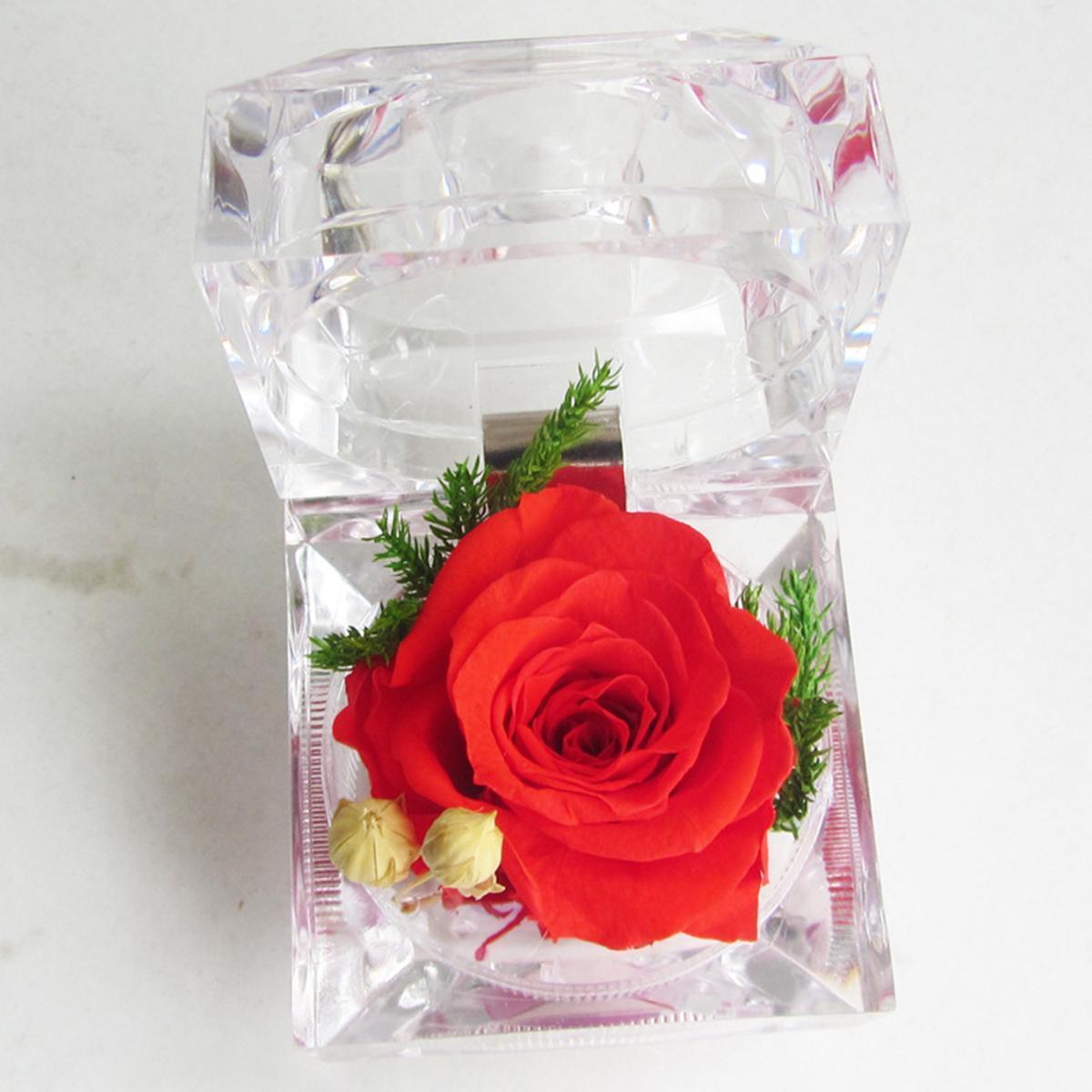 Вечная роза в колбе – особенный подарок ко Дню матери