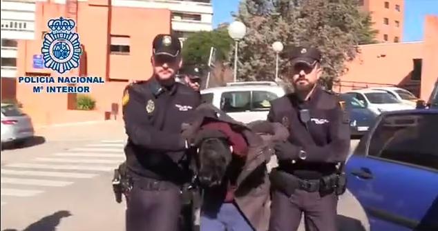 Затримання Альберто Санчеса Гомеса.