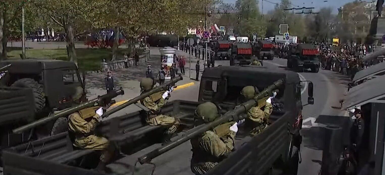 Репетиція параду в Севастополі.