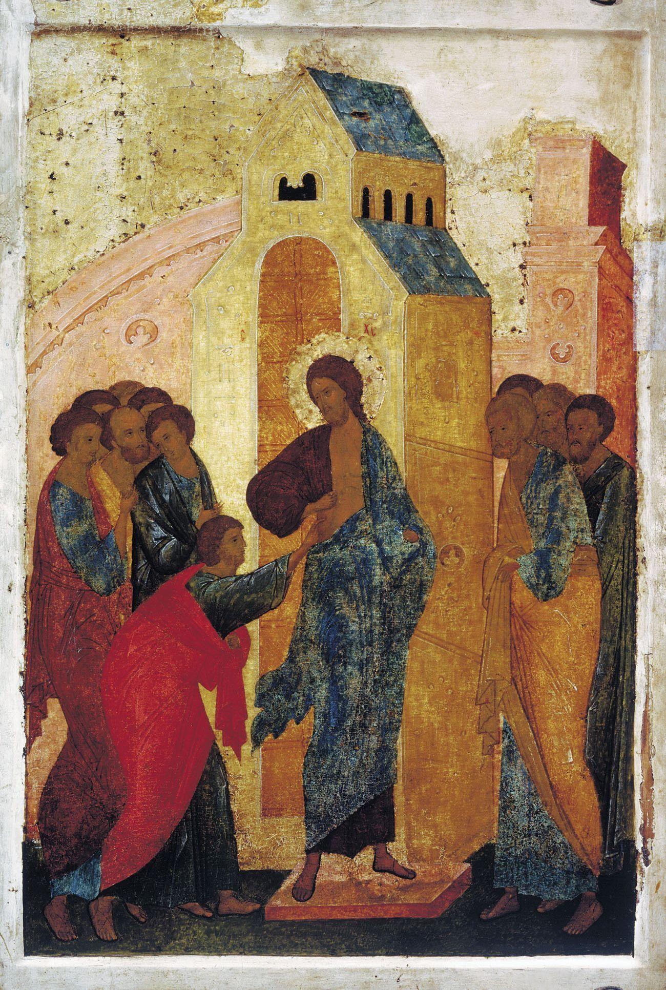 Лише коли Ісус показав Фомі свої рани і дозволив доторкнутися до них, той увірував