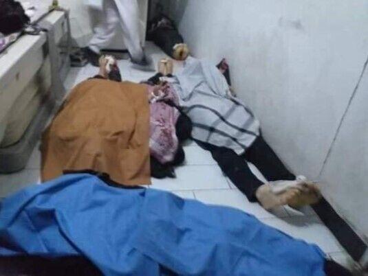 Погибшие в результате теракта