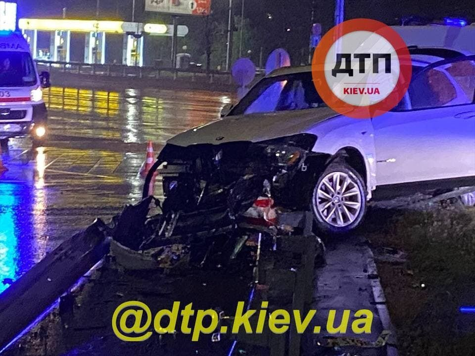ДТП на Бажана в Києві