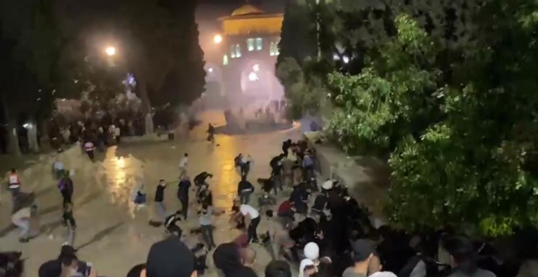 Палестинские СМИ сообщили о 178 пострадавших протестующих.