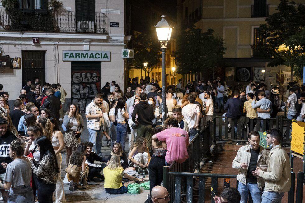 Площа Растрільо в Мадриді