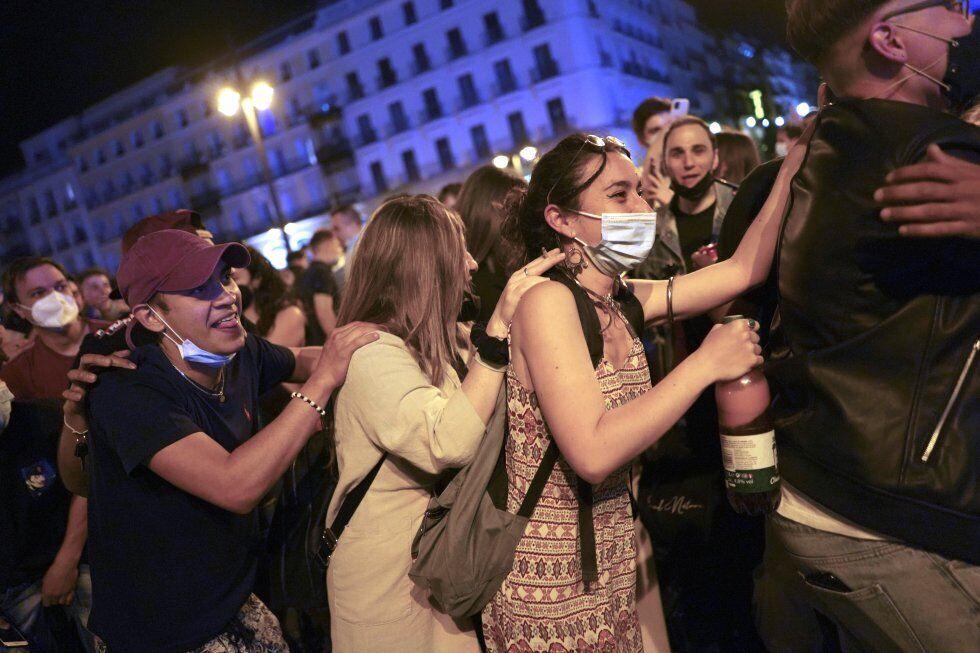 Гуляння в Мадриді