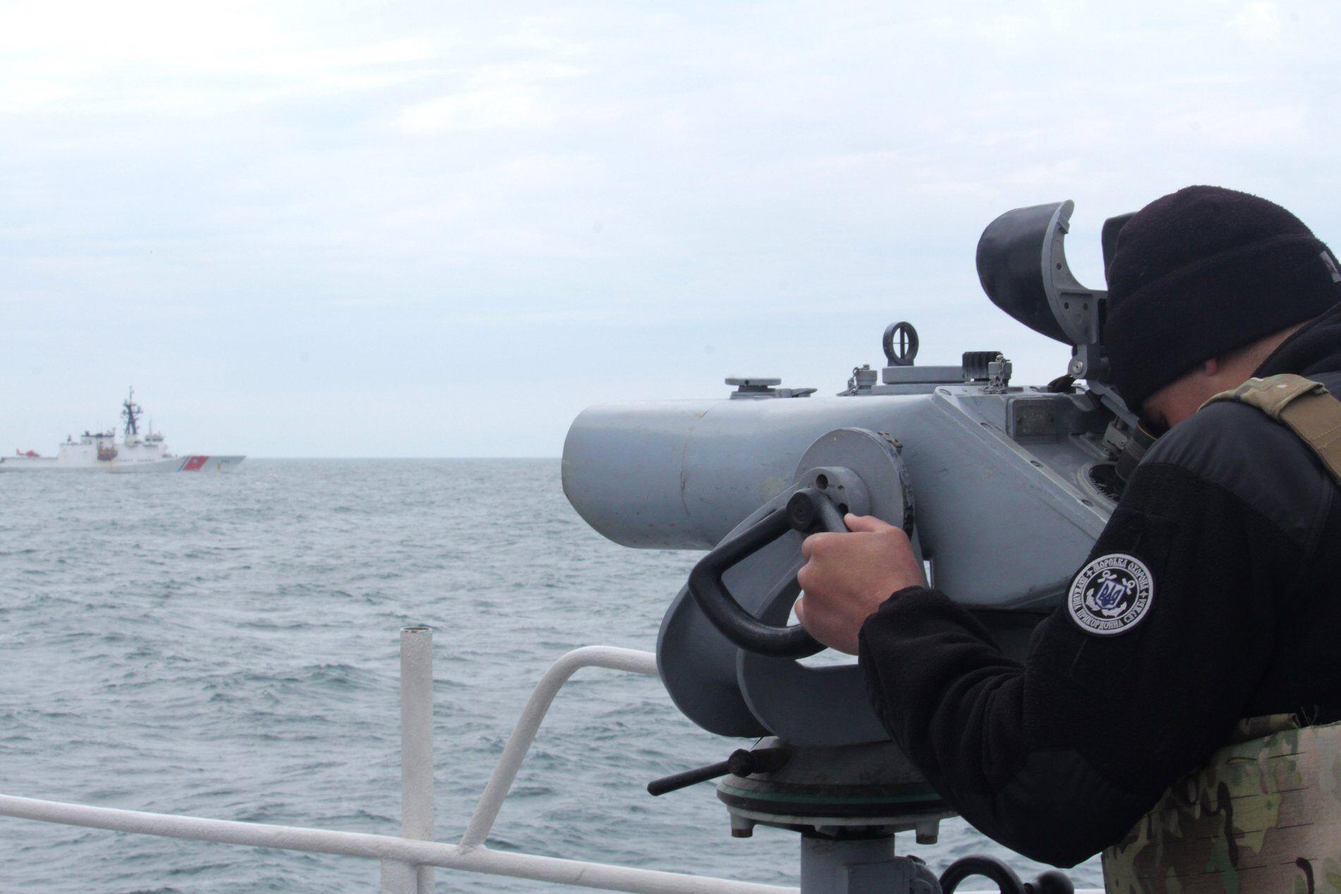 Російські кораблі стежили за навчаннями США і України.