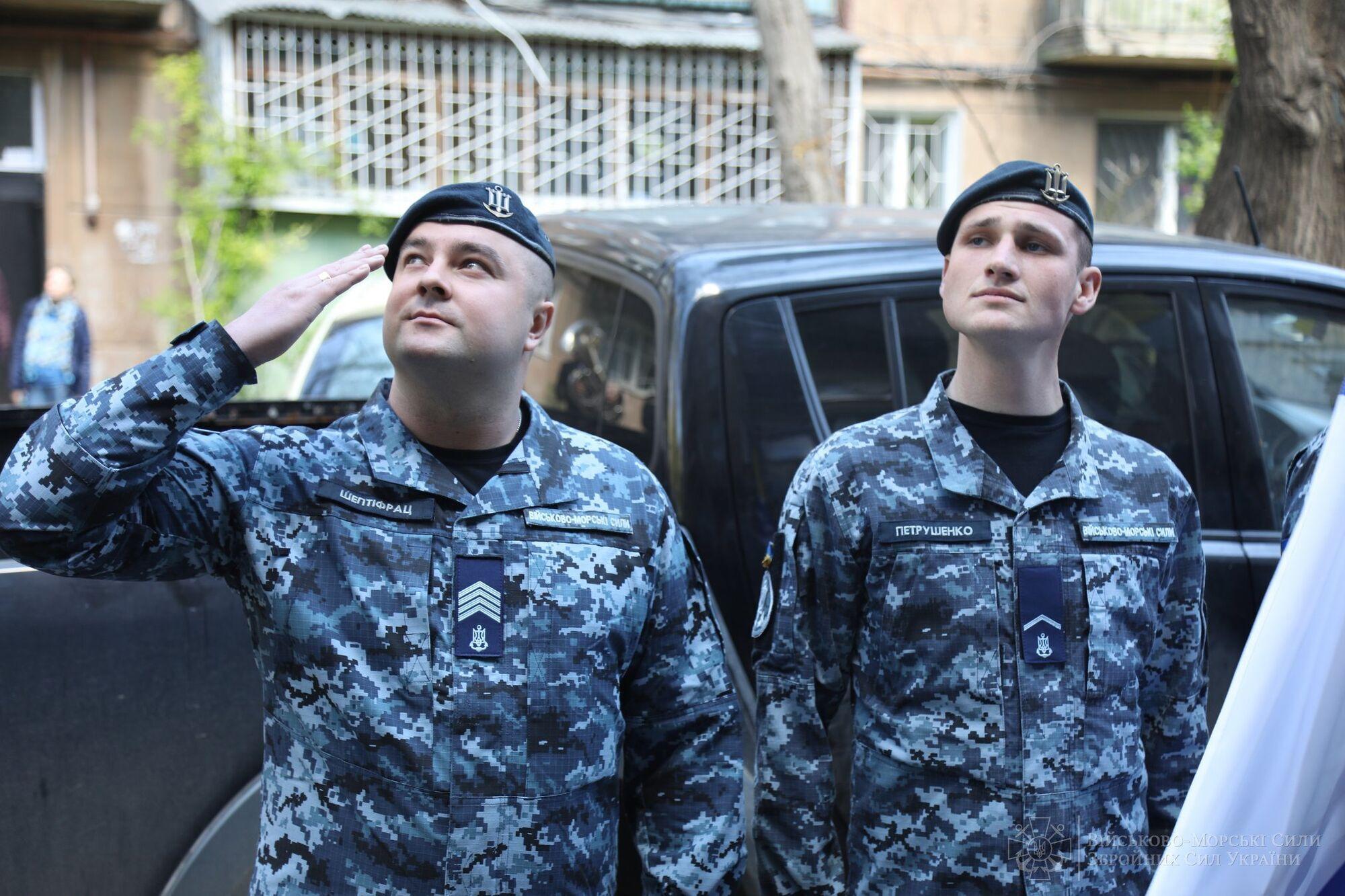 ВМС зворушливо привітали ветерана