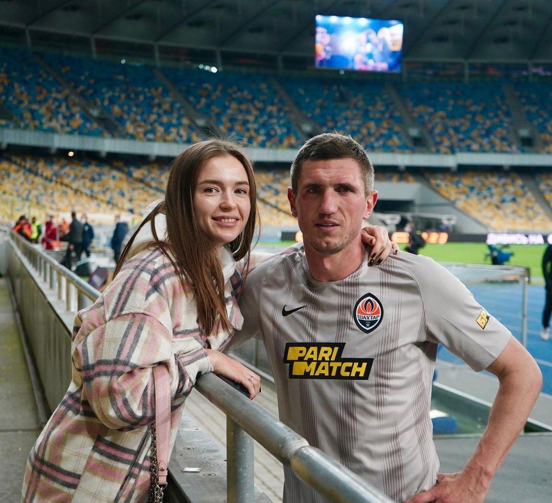 Сергій Кривцов з дружиною Юлією