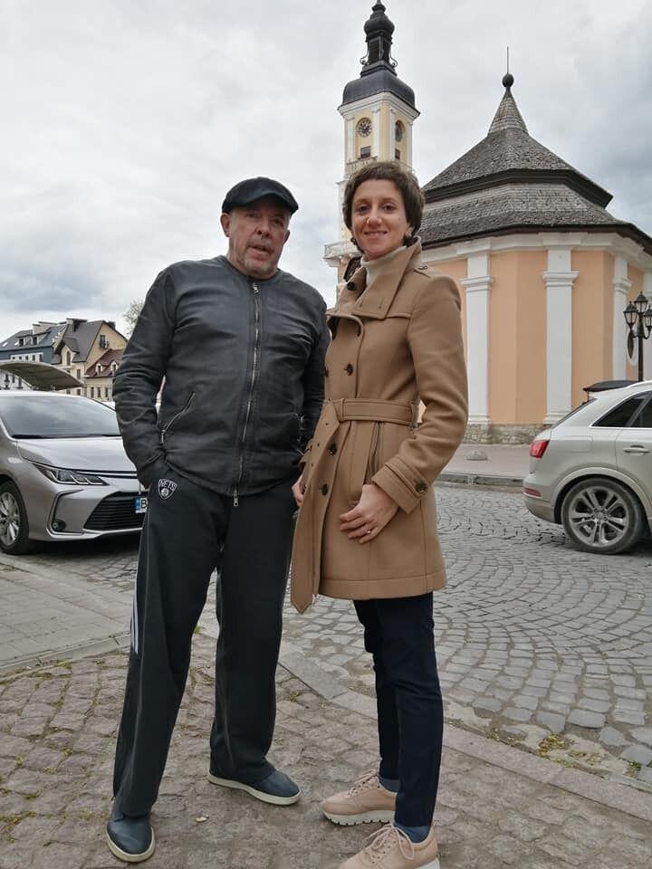 Андрій Макаревич з дружиною