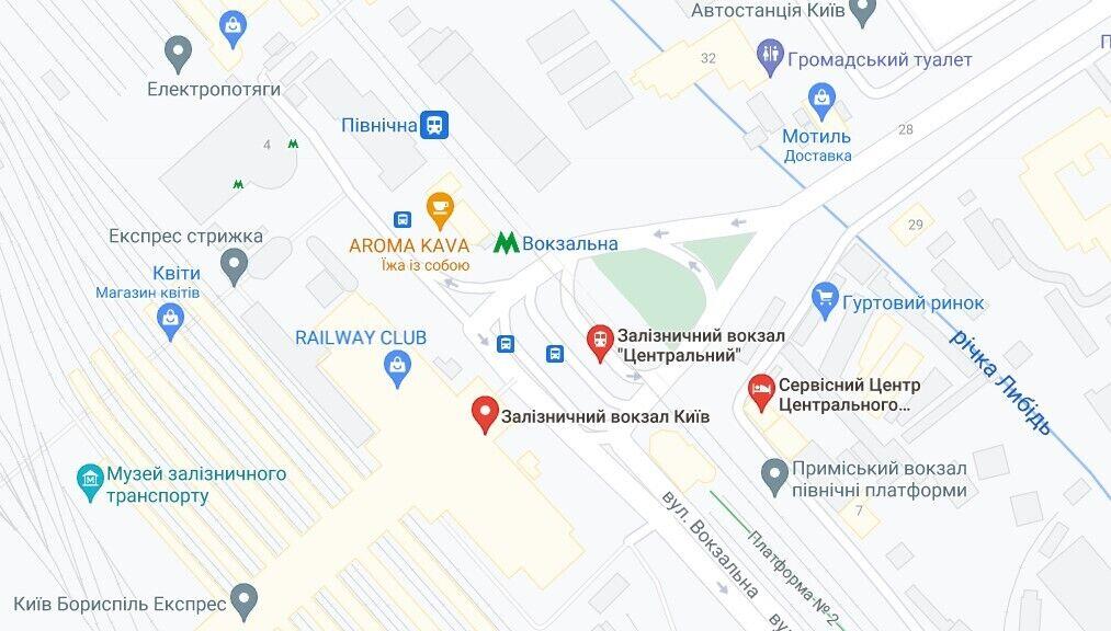 В Киеве заявили о минировании вокзала