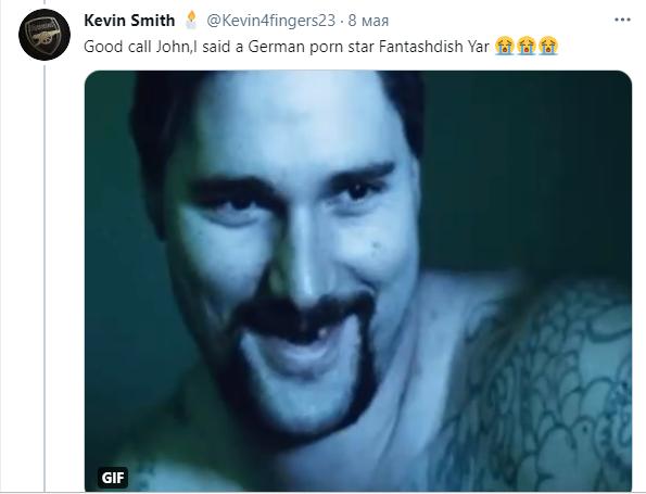 Усика порівнюють з німецьким порноактором
