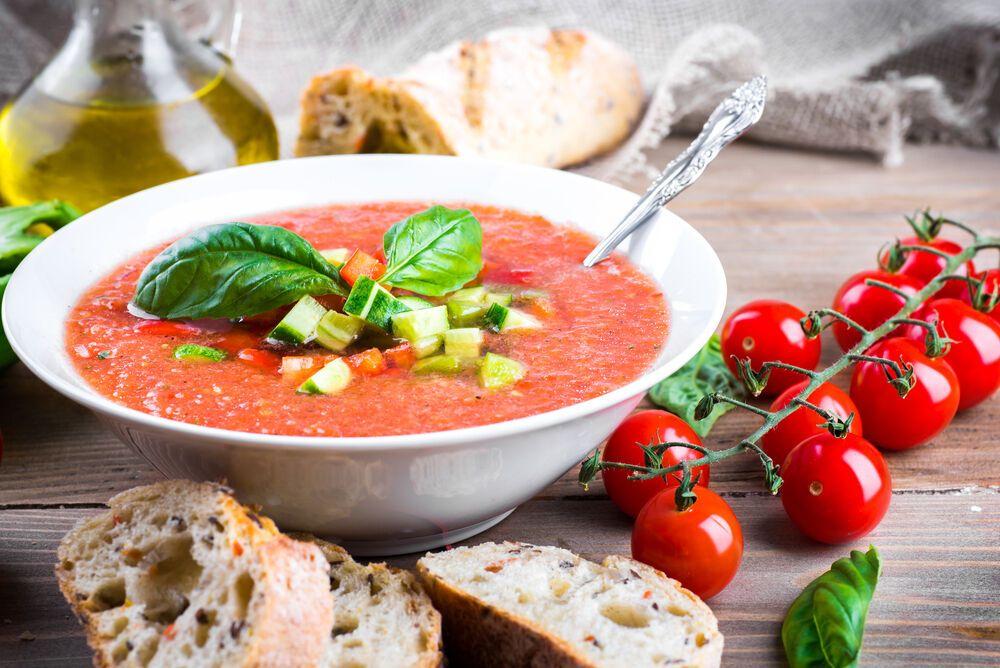 Как вкусно приготовить суп Гаспачо