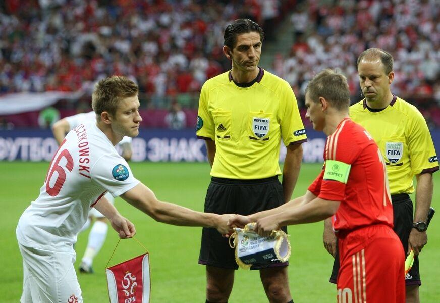 Матч Польща – Росія на Євро-2012.