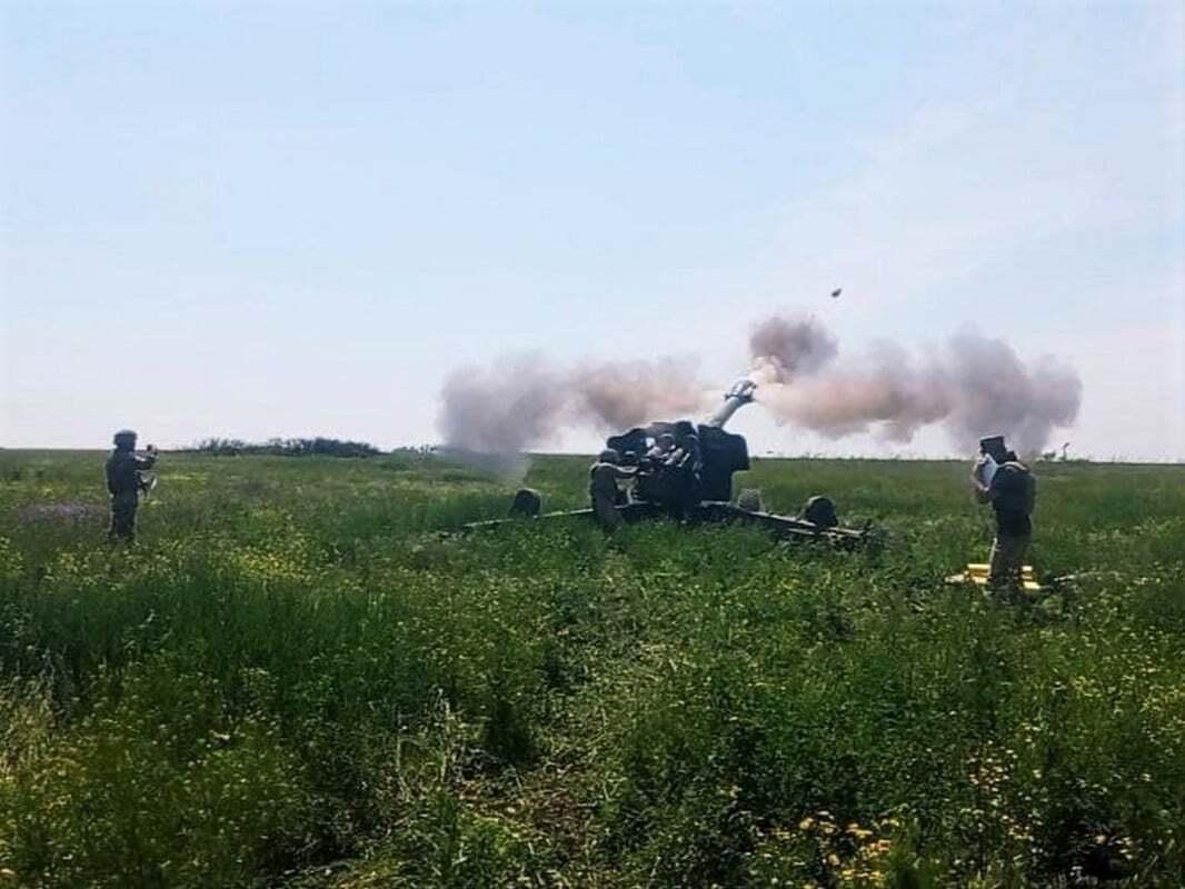 Стрельбы артиллеристов ВСУ состоялись на одном из полигонов в районе отвода