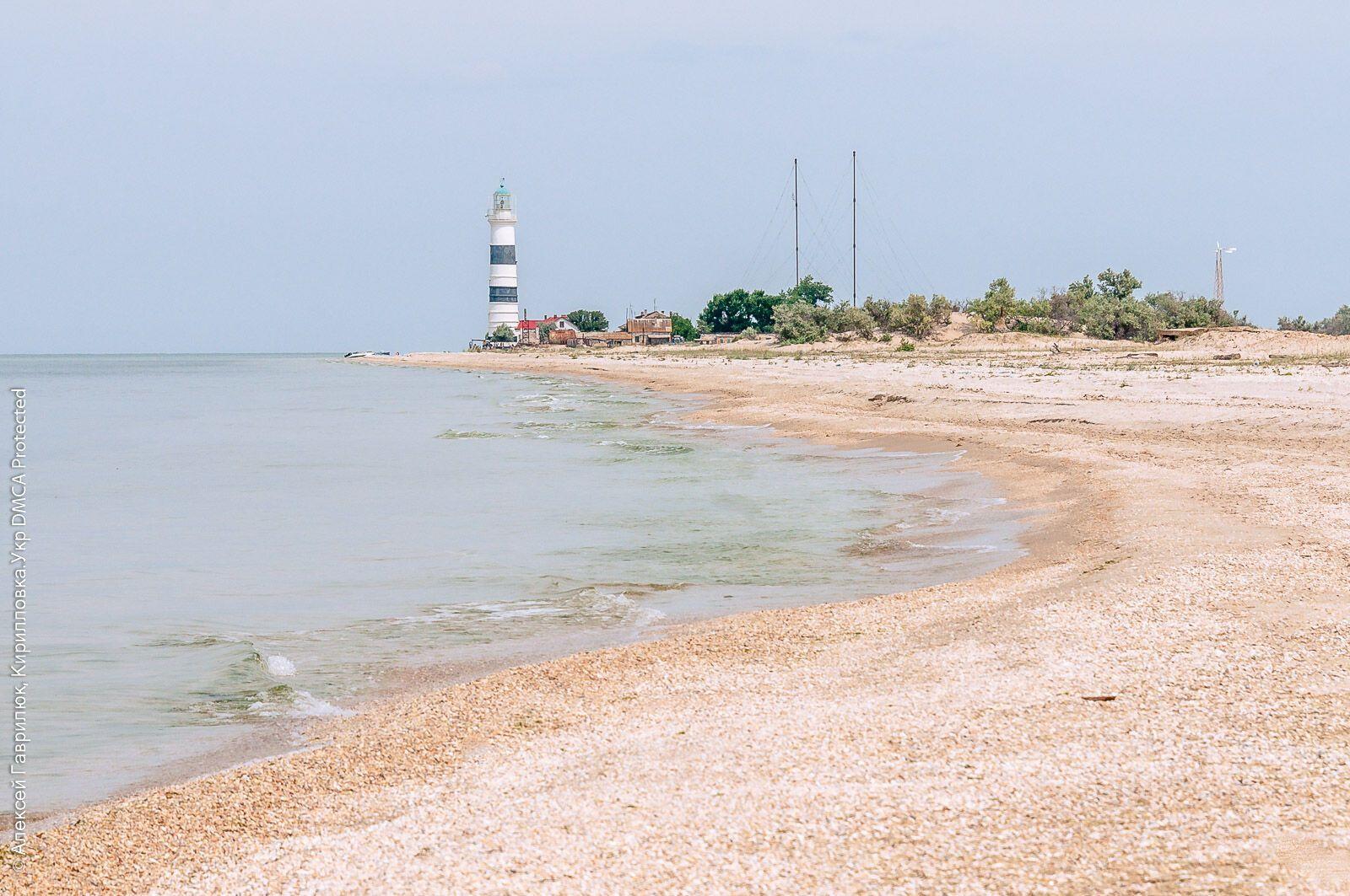 Остров Джарылгач – это самый большой остров в Украине