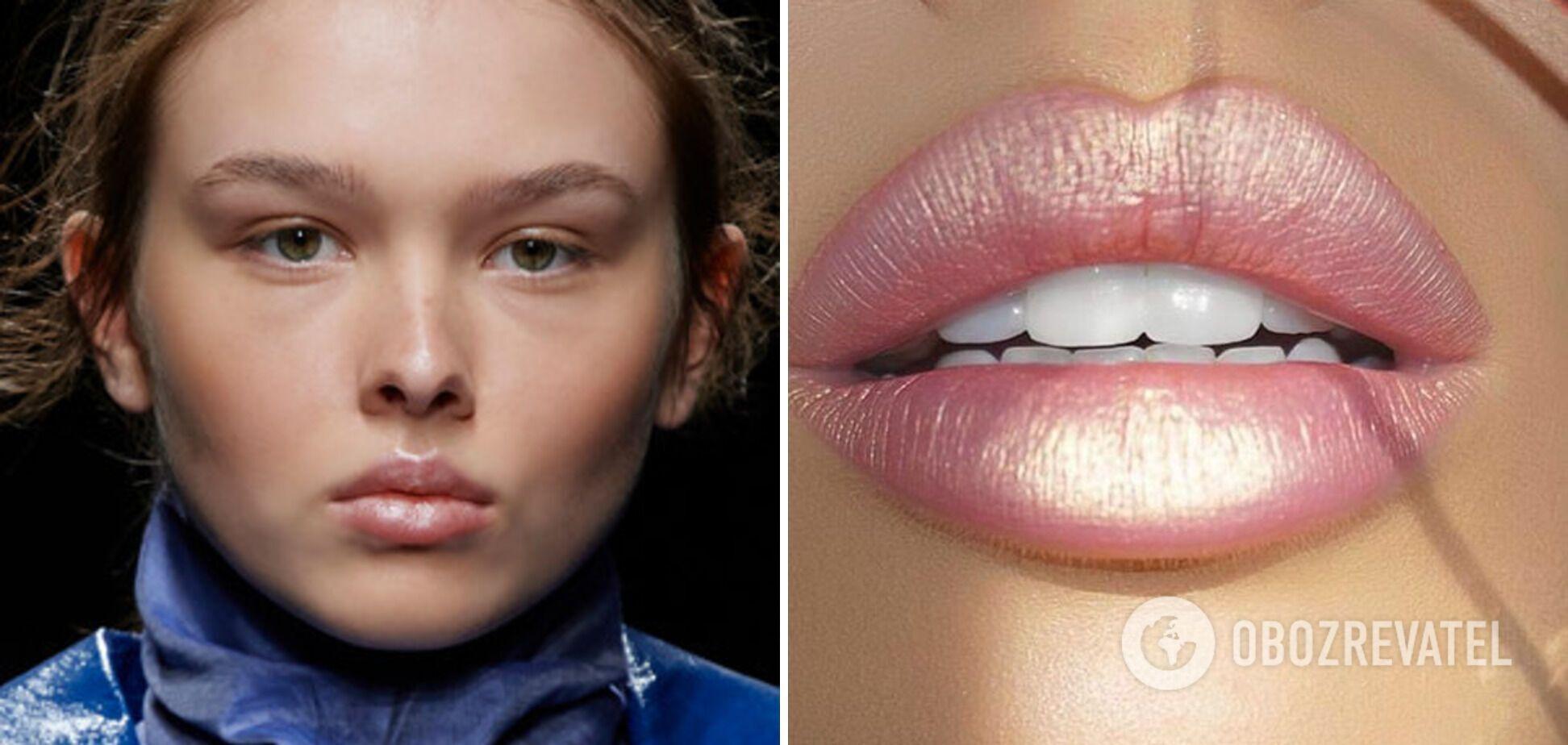 Тренд в макияже на лето 2021 – перламутровый блеск