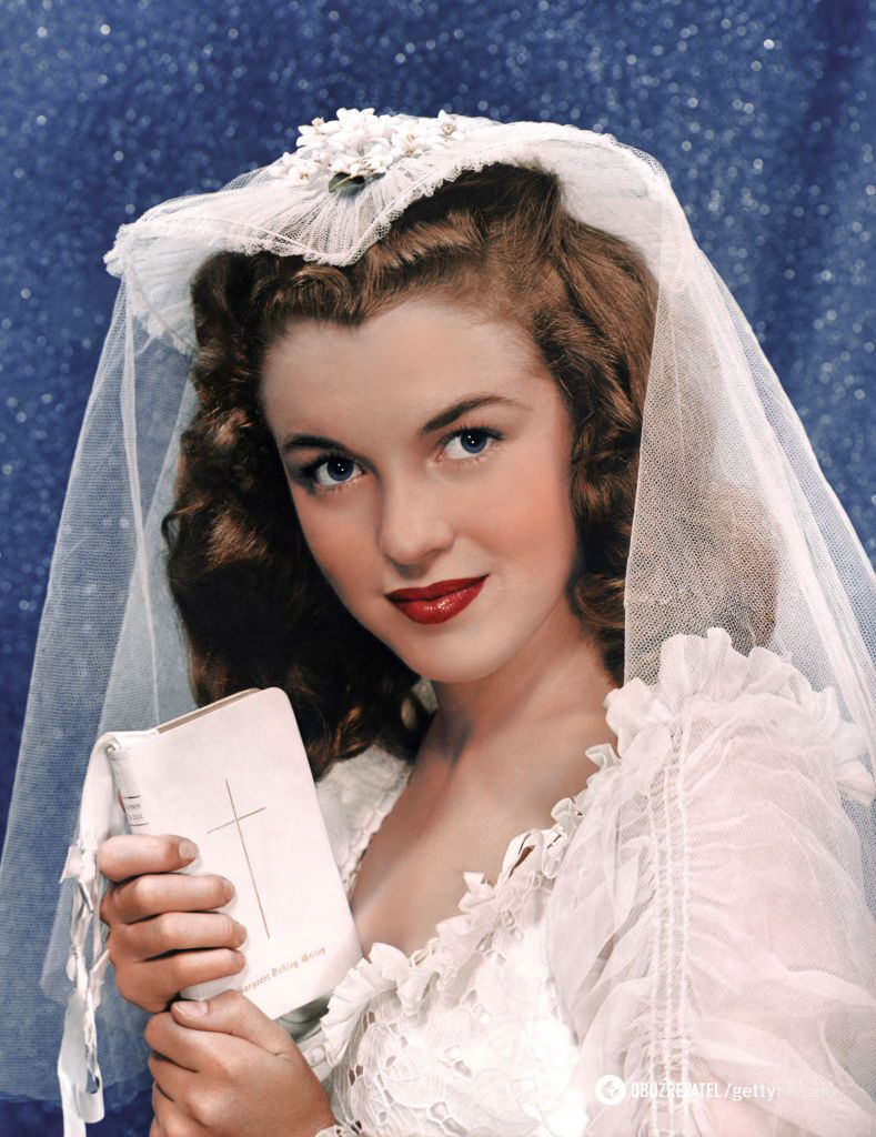 Монро була одружена тричі.