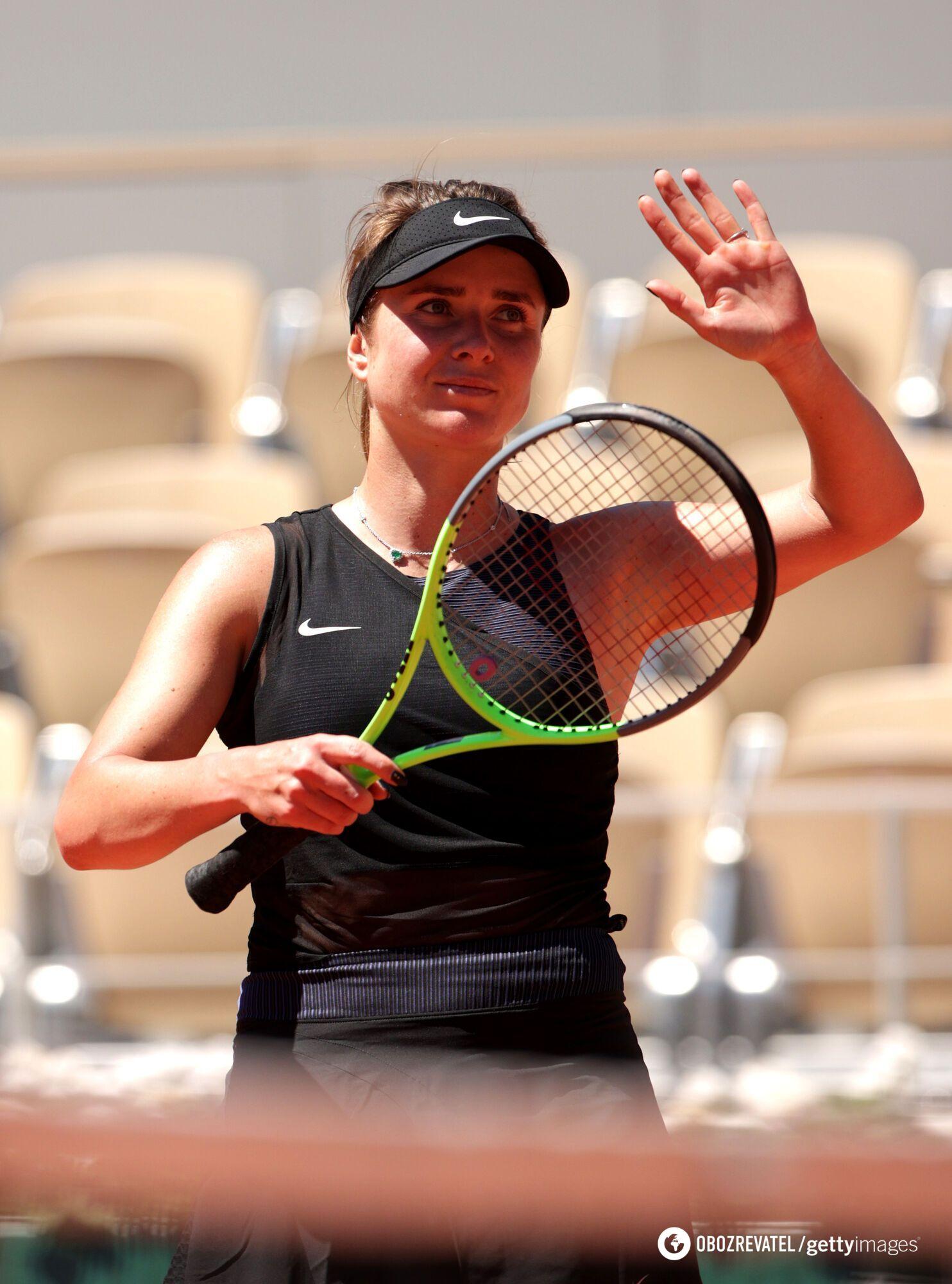 Элина Свитолина вышла во второй круг Roland Garros.