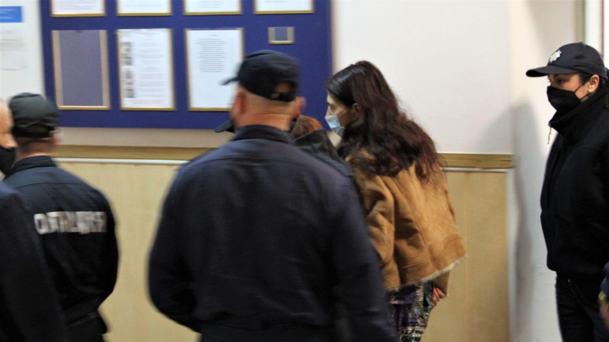 Підозрювана Наталія Дзісь.