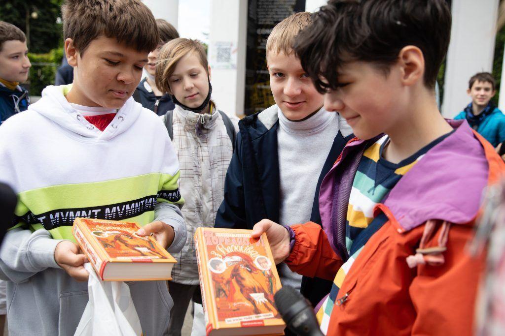 Марина Порошенко привітала зі святом дітей із родин учасників війни