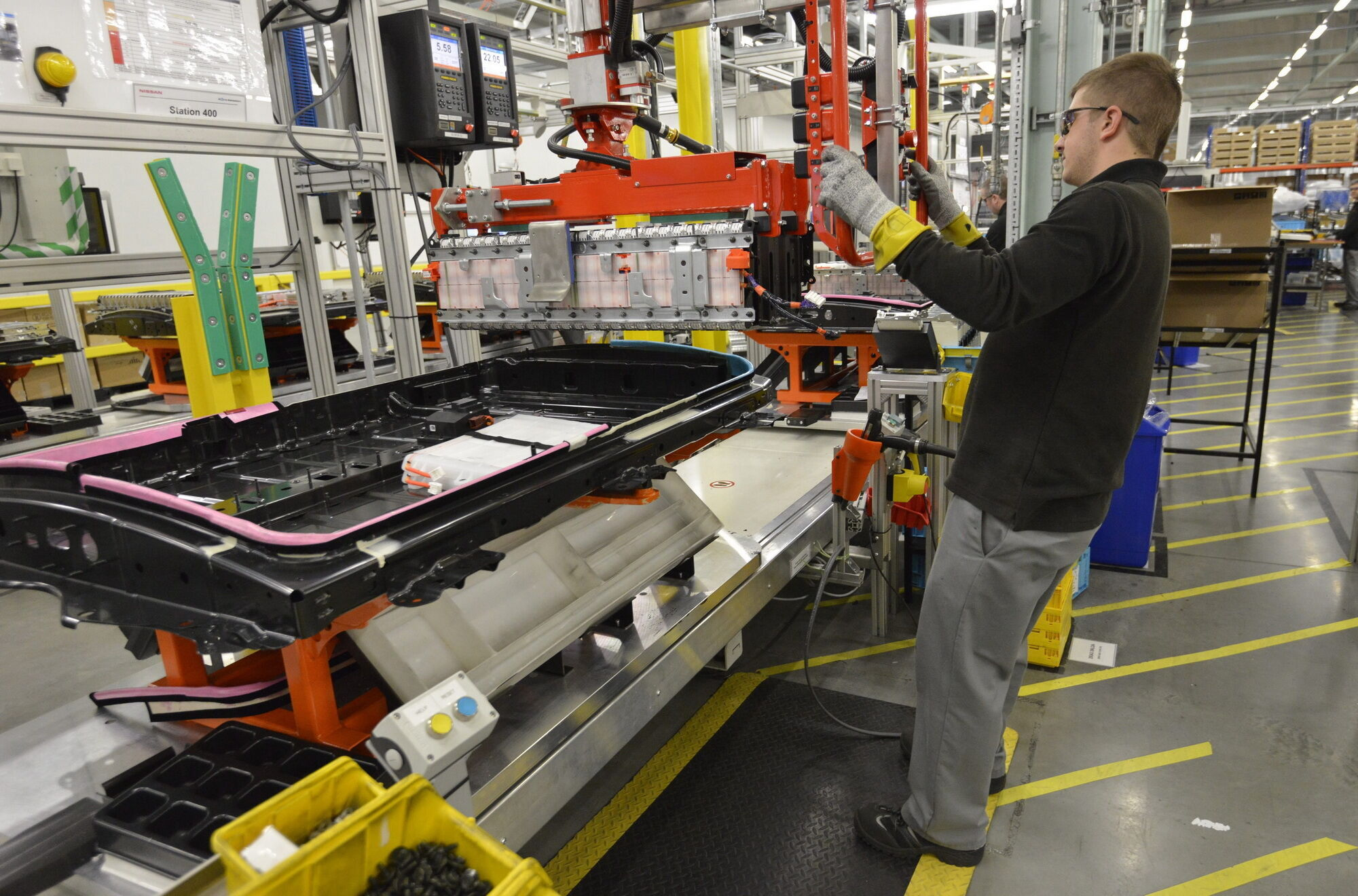 Майбутній акумуляторний завод у Сандерленді зможе виробляти 200 тисяч батарей щорічно