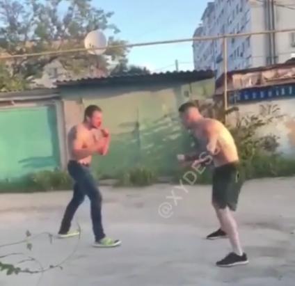 Бійка потрапила на відео