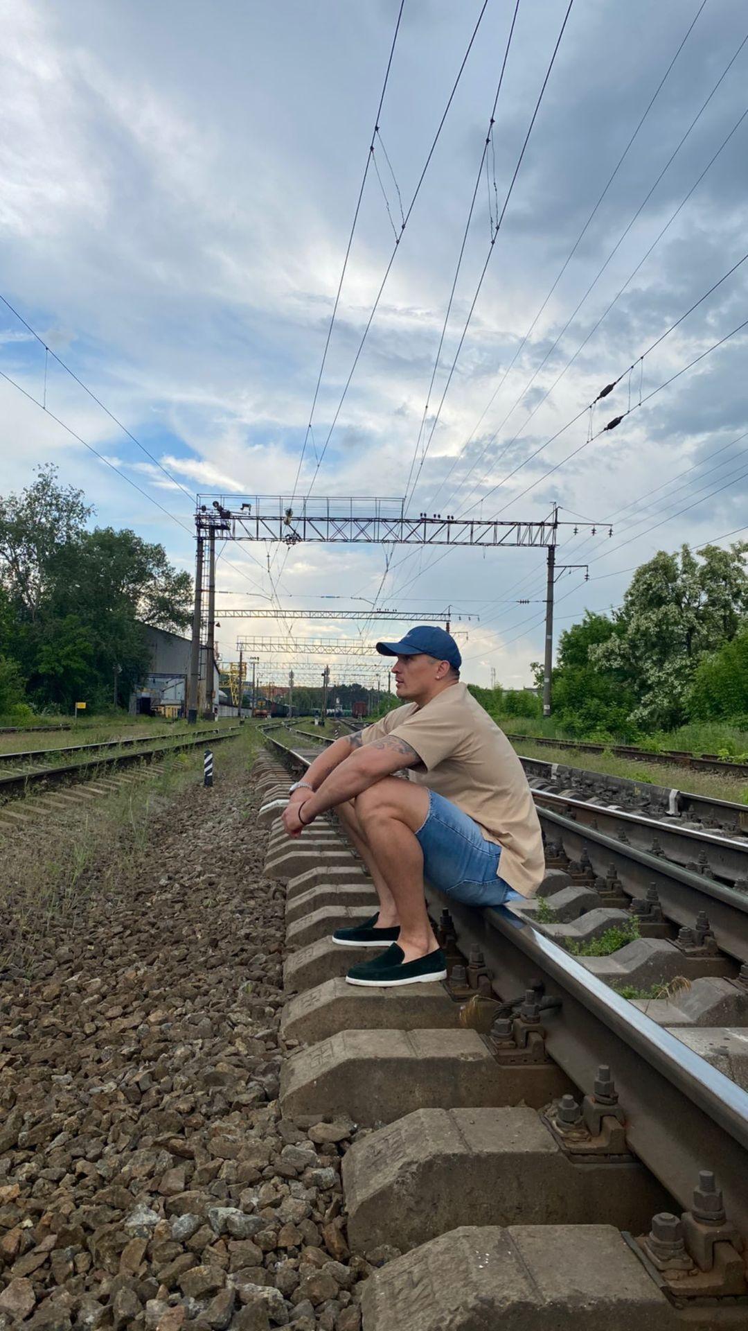 Олександр Усик сів на рейки