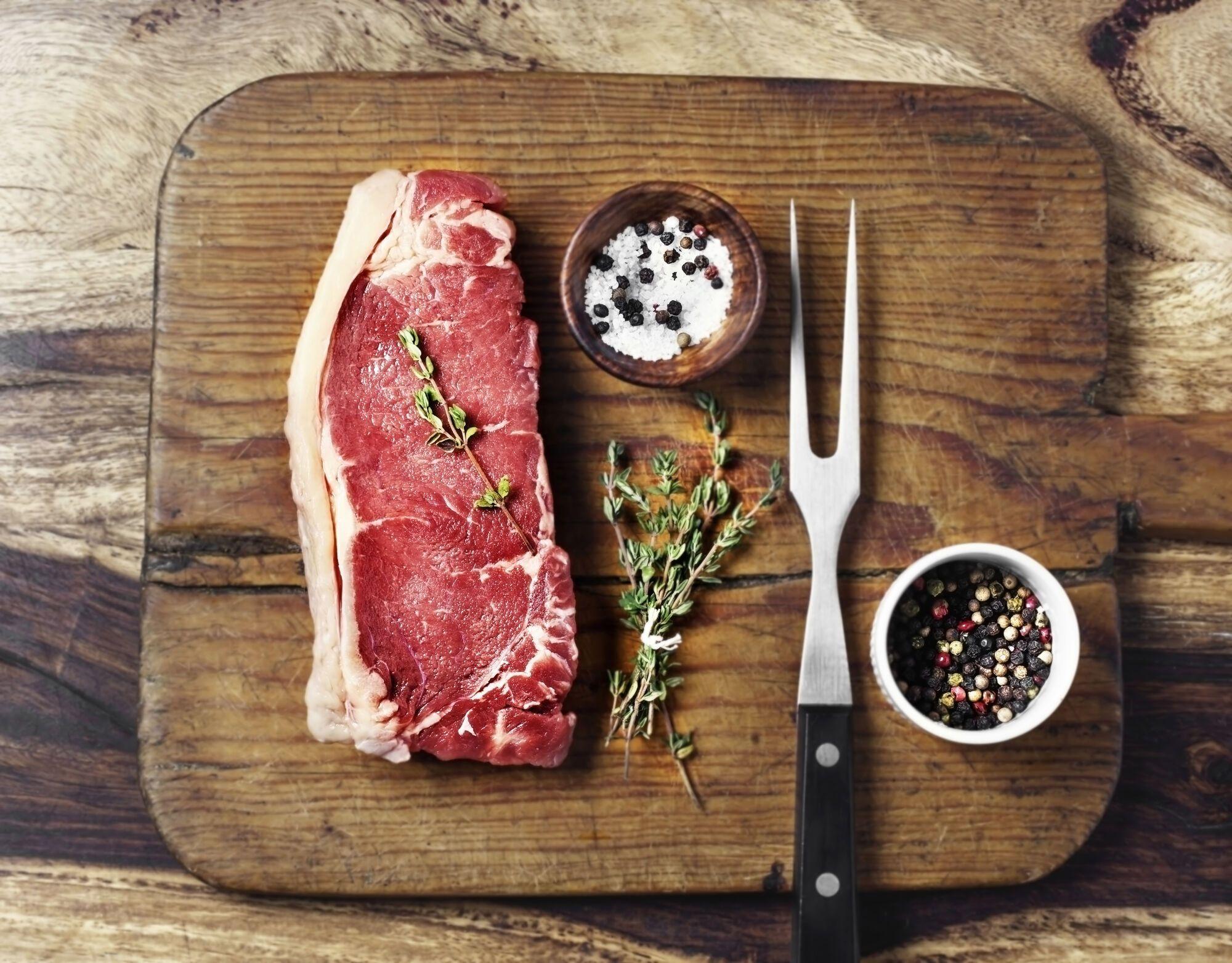 Мясо маринуйте не меньше 1 часа