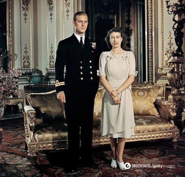 20-летняя Елизавета и 25-летний Филипп