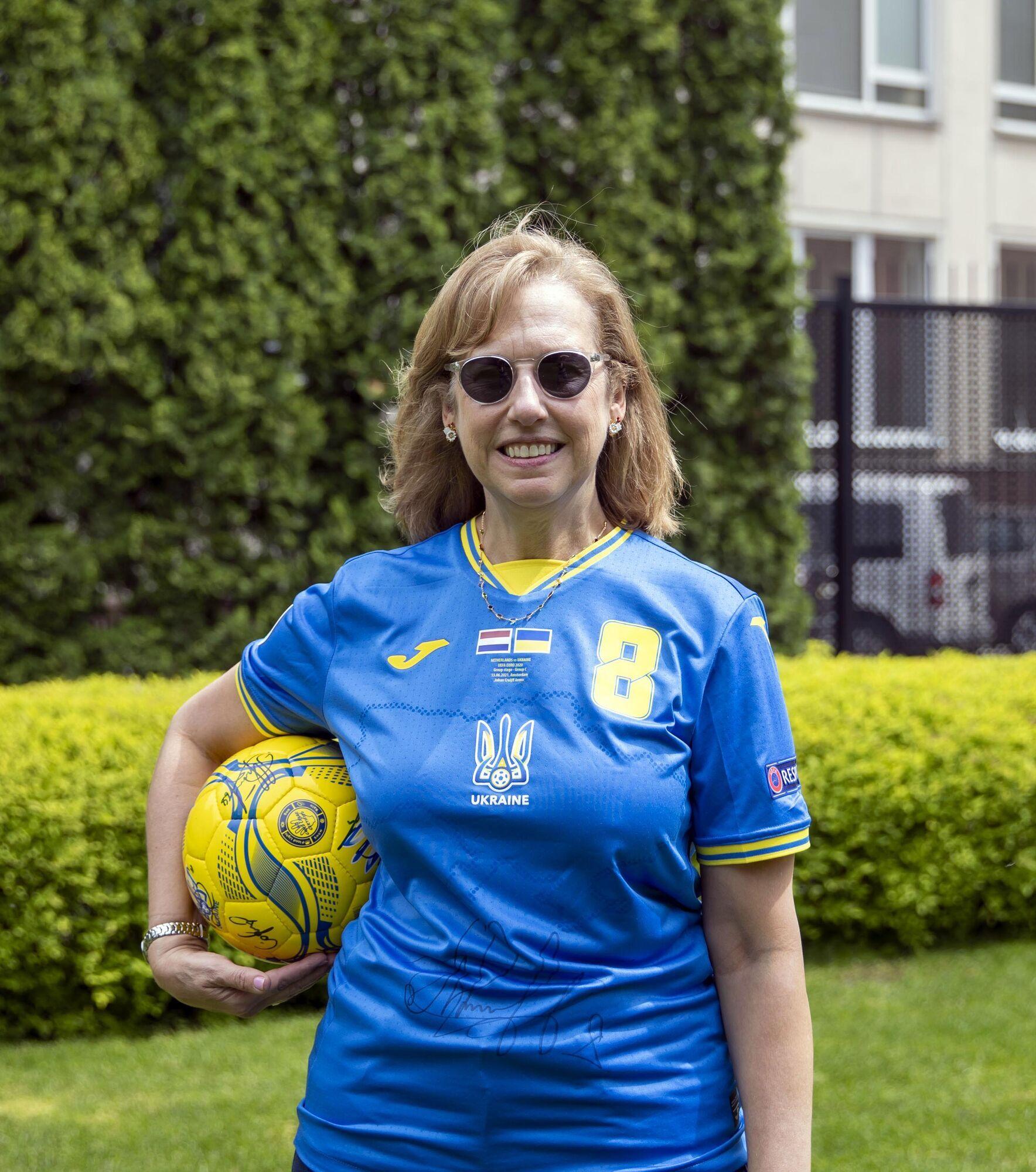 Посольство США підтримало збірну України.