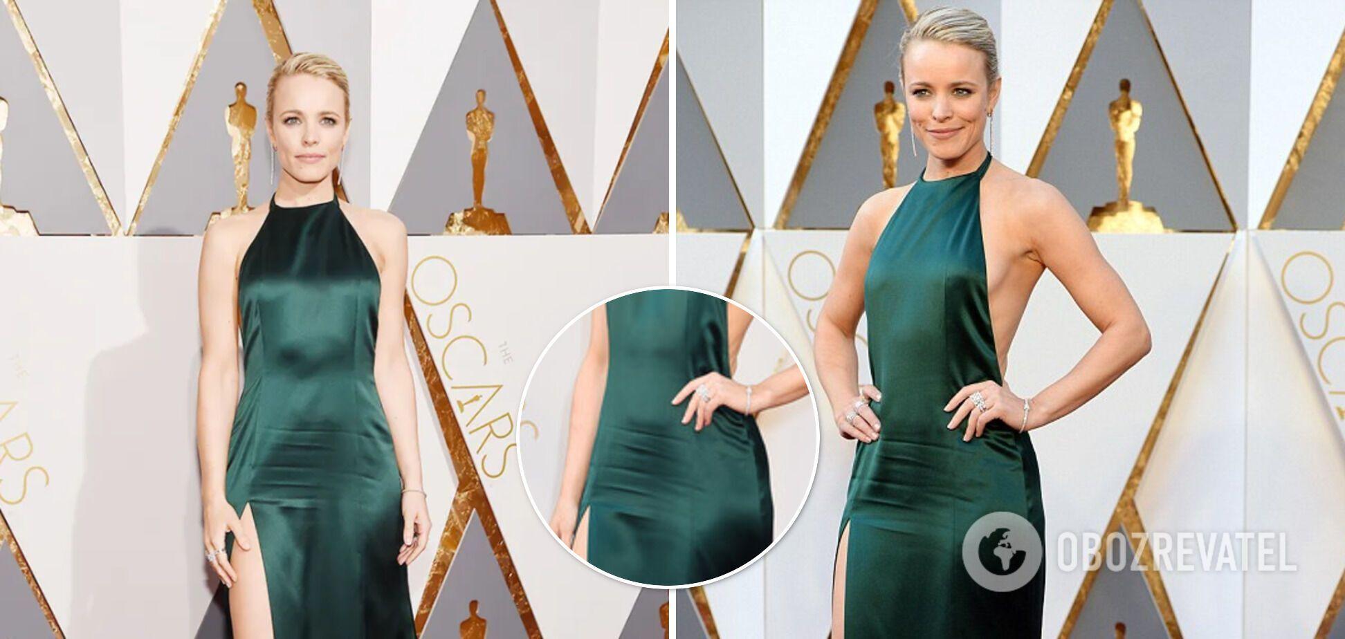 """Огромные складки на животе Рэйчел Макадамс испортили все впечатление от ее образа на """"Оскаре"""""""