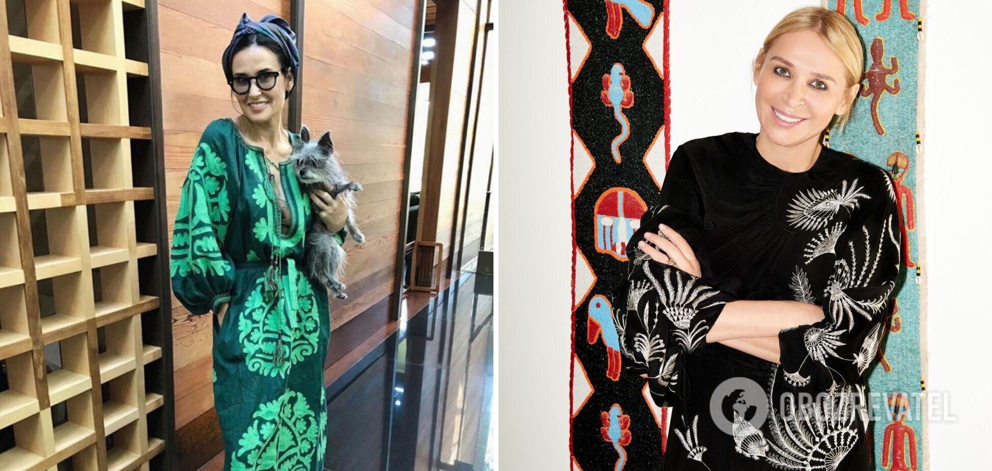 Демі Мур любить сукні від Vita Kin