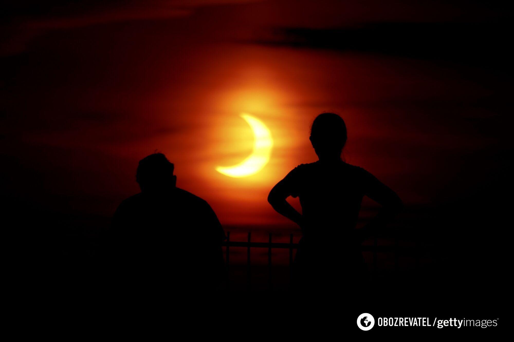 Сонячне затемнення в США